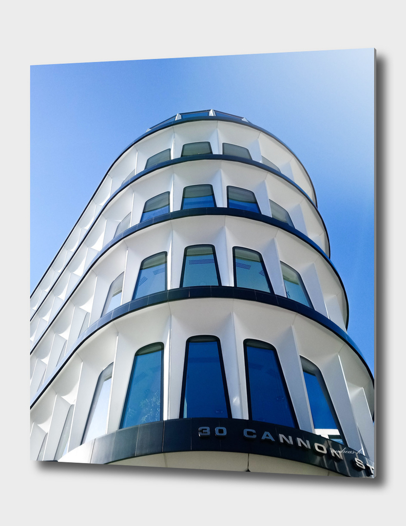 Building on Cannon Street London