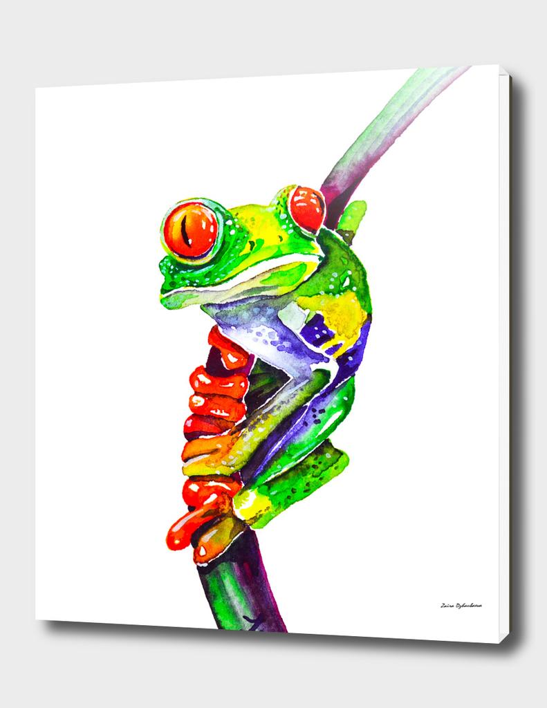 Mischievous Frog