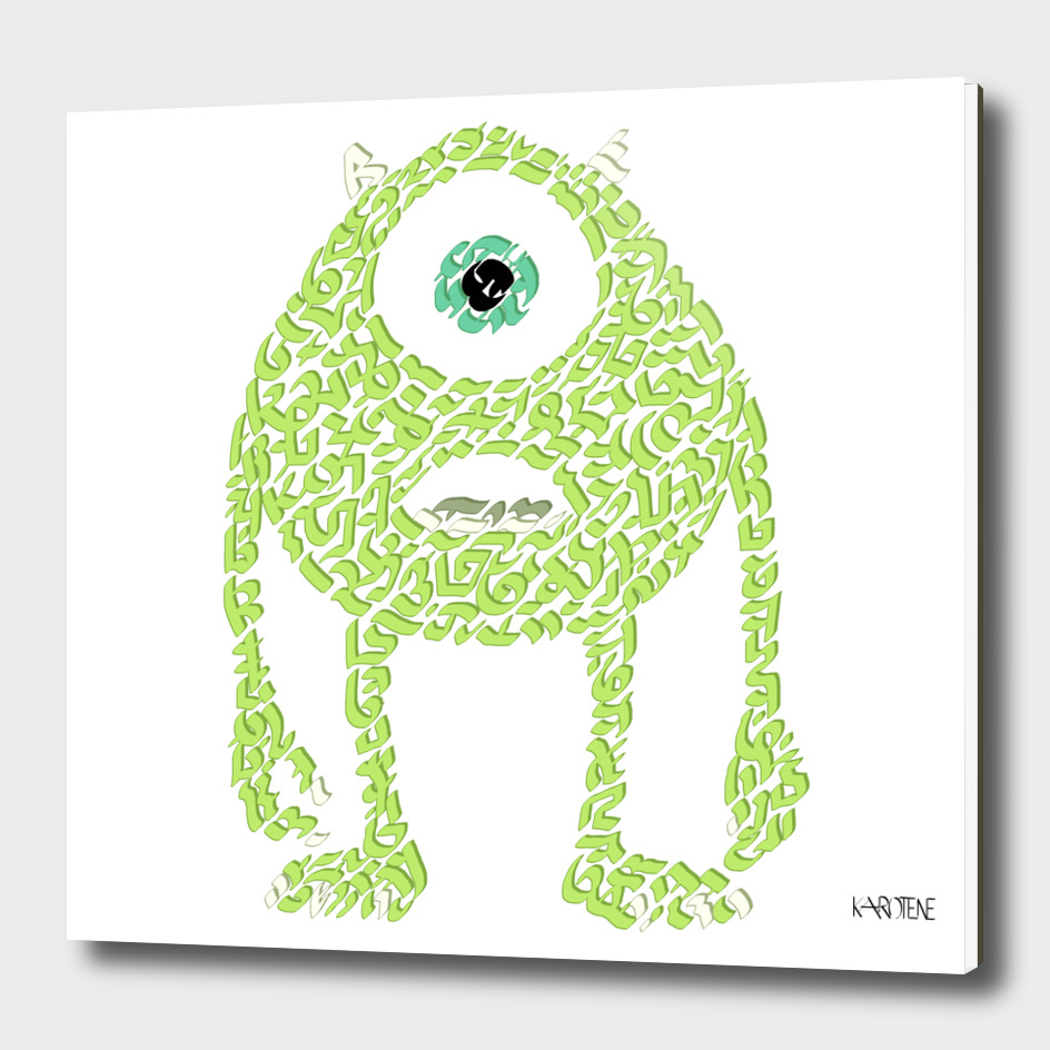 Mike Wazowski in Monsters Inc.