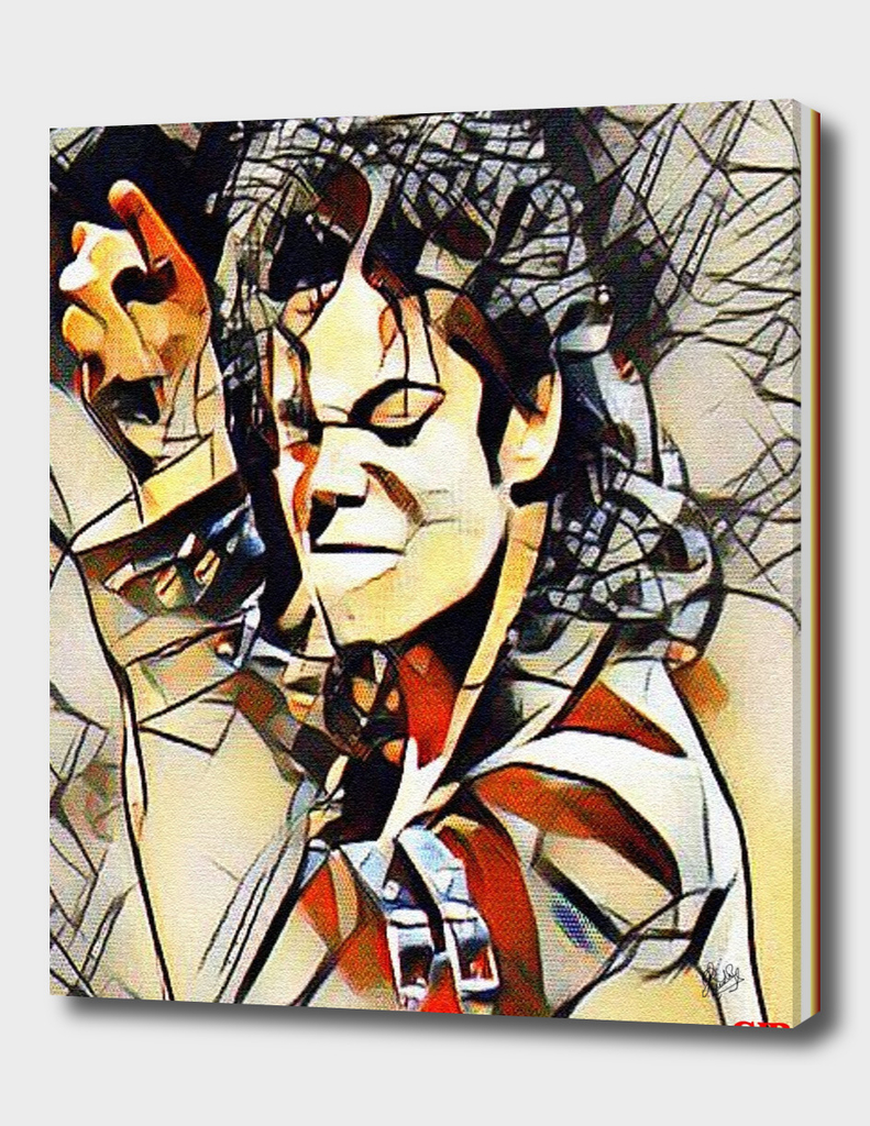 MICHAEL JACKSON IN THE KANDINSKY STYLE