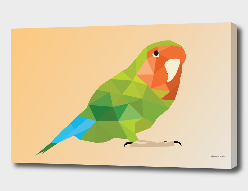 Parrot LOW POLY ART