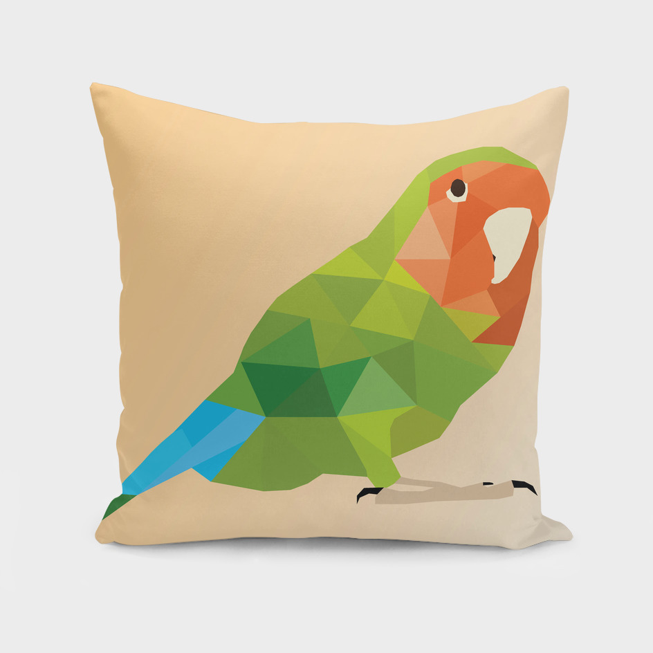 Parrot LOW POLY ART