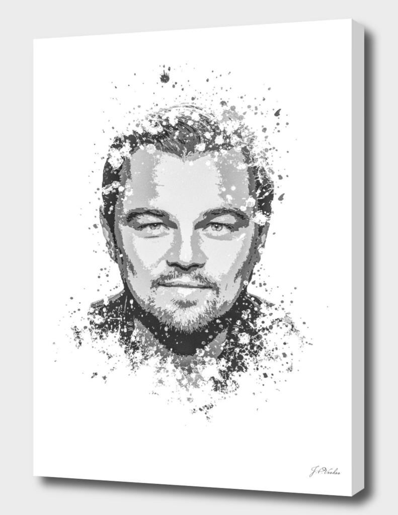 Leonardo DiCaprio splatter