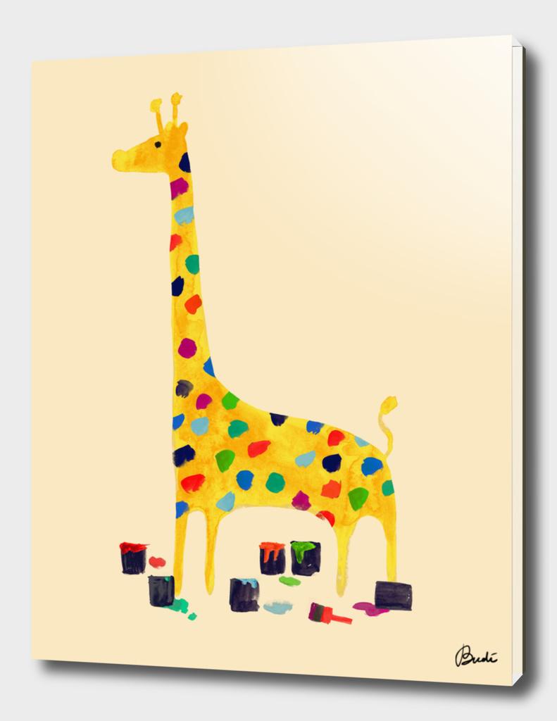 Whimsical Giraffe