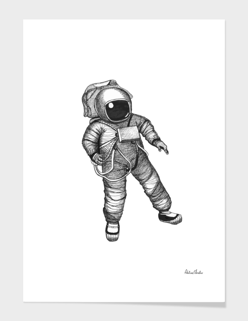 Lonely Astronaut