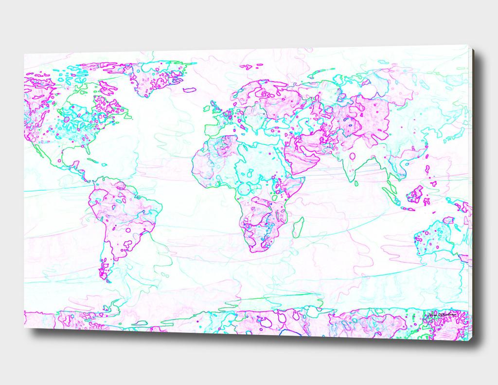 Spontaneous World Map