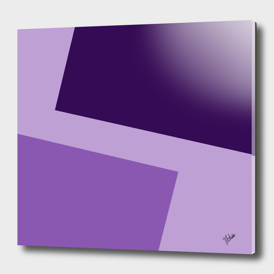 Two ways (purple series)