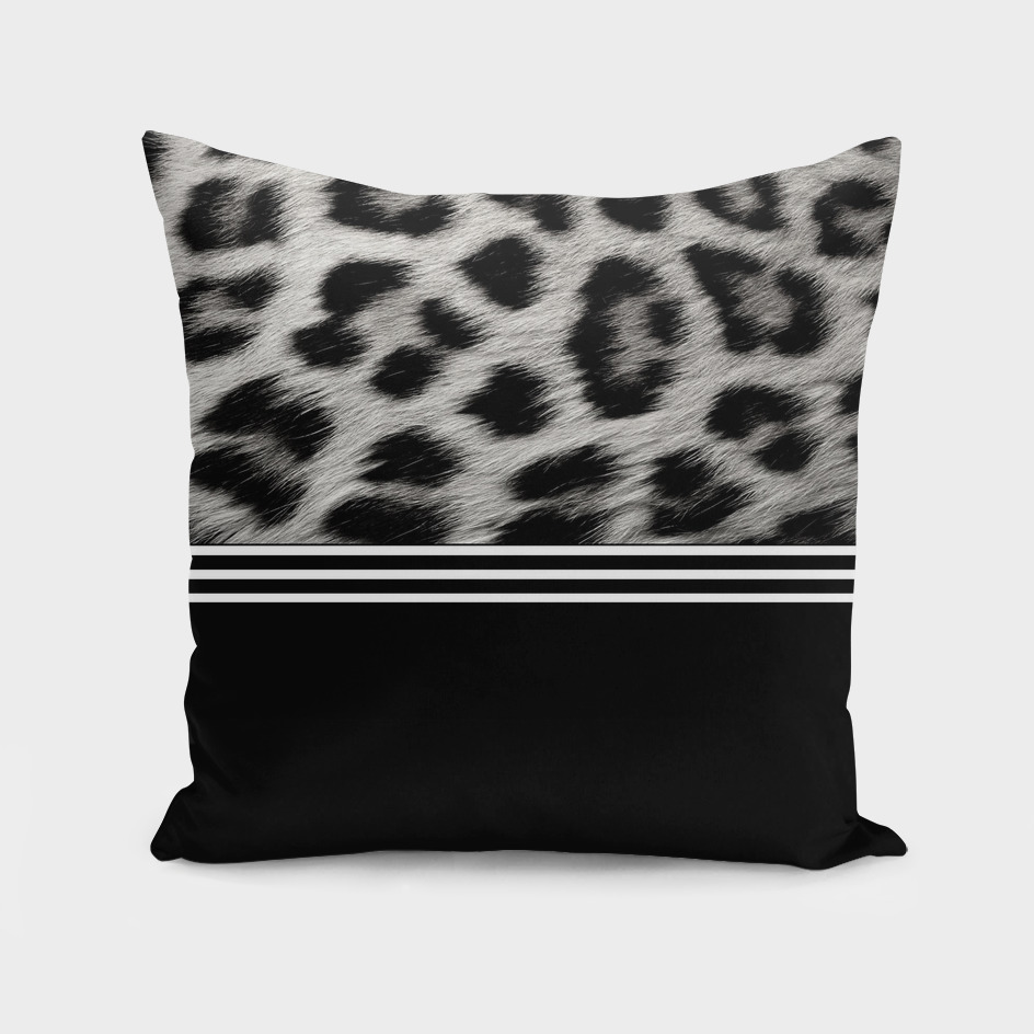 Jungle vibes in black and white