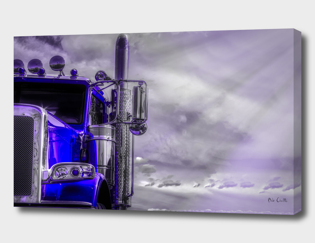 Road Stories Peterbilt truck