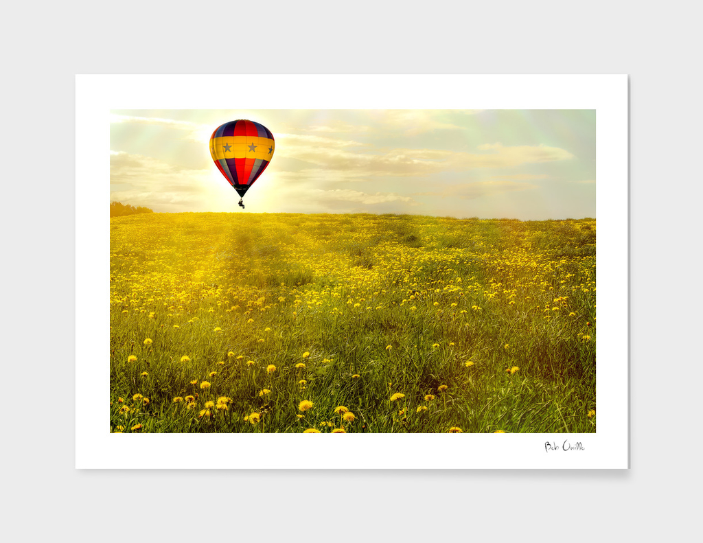 Sky Adventure A Man And His Balloon