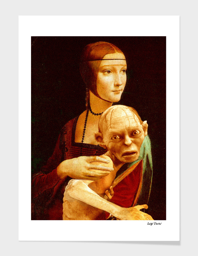 Lady with Gollum