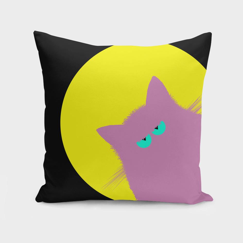 Full Moon Lilac Cat