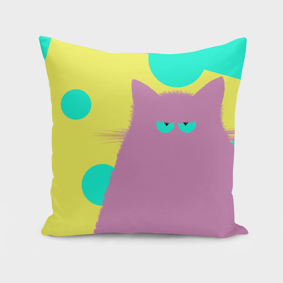 Big Cheese Lilac Cat