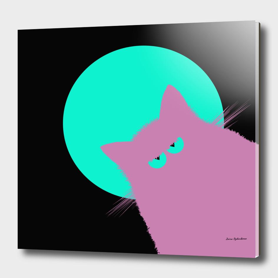 Blue Moon Lilac Cat