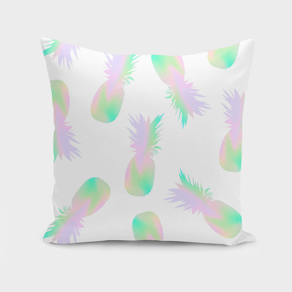 Pineapples Iridescent Holographic