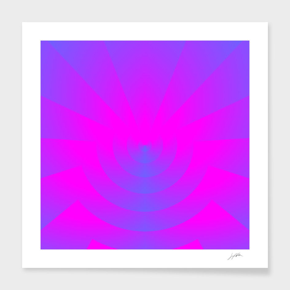 Fuschia About - Abstract Art