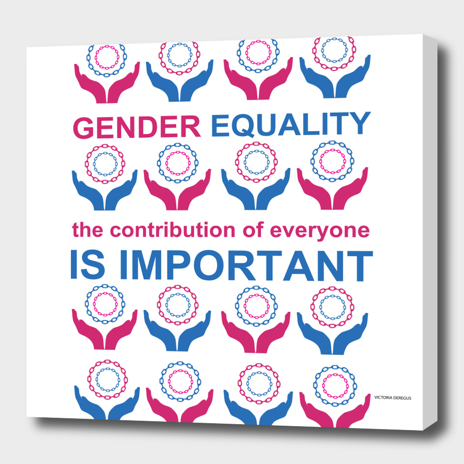 Gender Equality_Art by Victoria Deregus_01