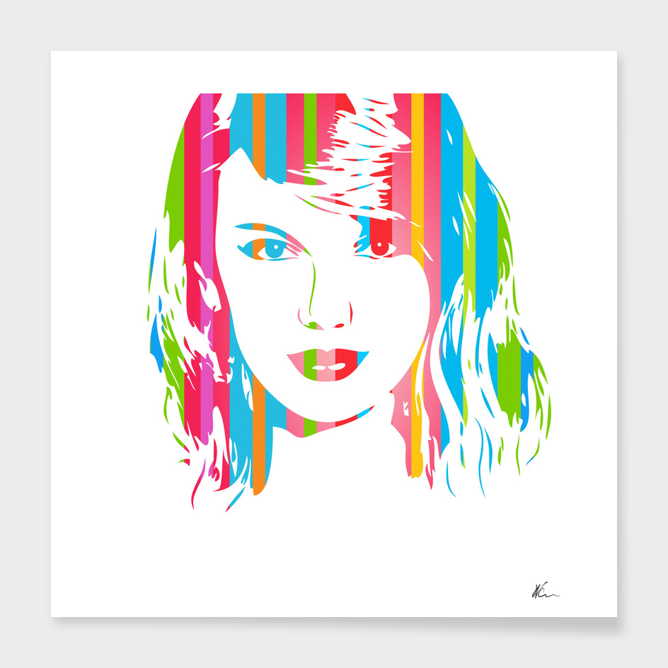 Taylor Swift | Pop Art