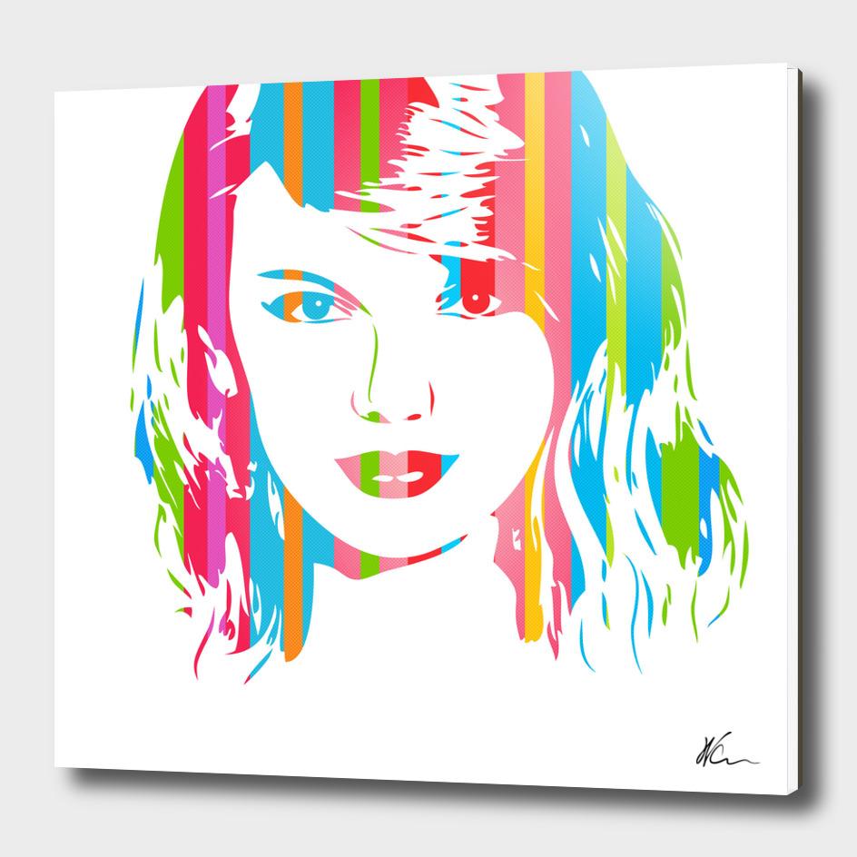 Taylor Swift   Pop Art