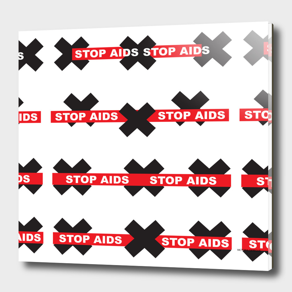 STOP AIDS_ Art by Victoria Deregus_01