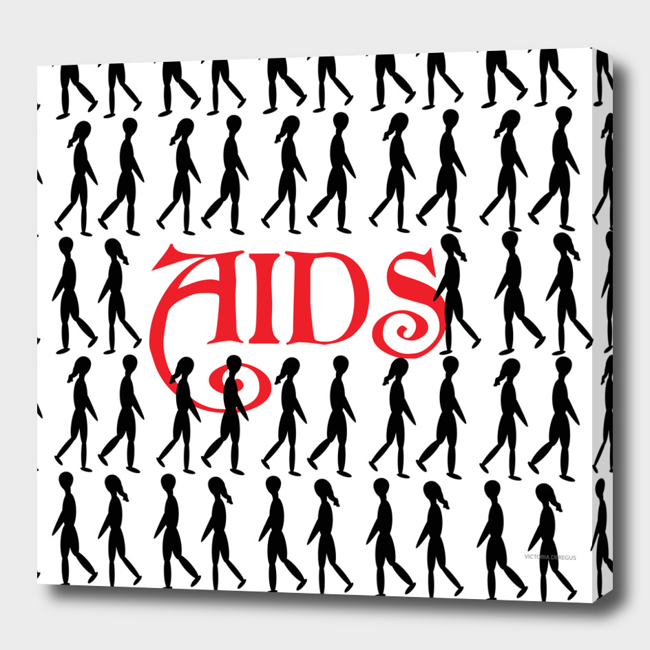 STOP AIDS_ Art by Victoria Deregus_03