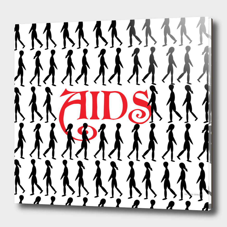 STOP AIDS_ Art by Victoria Deregus_03