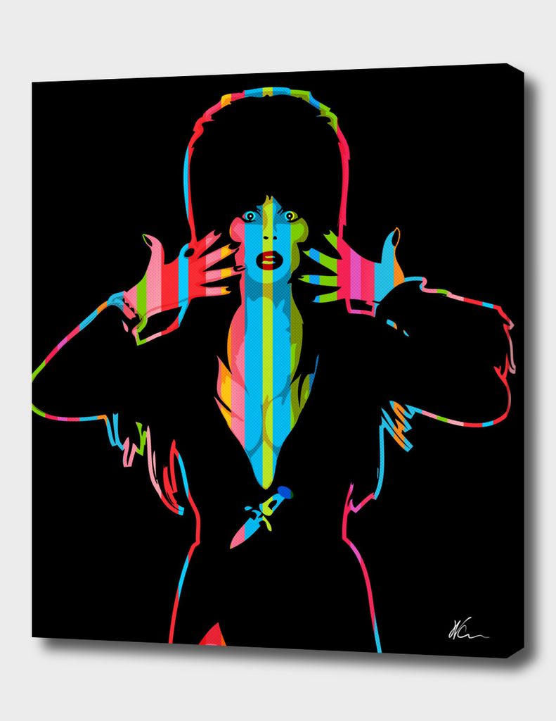 Elvira | Dark | Pop Art