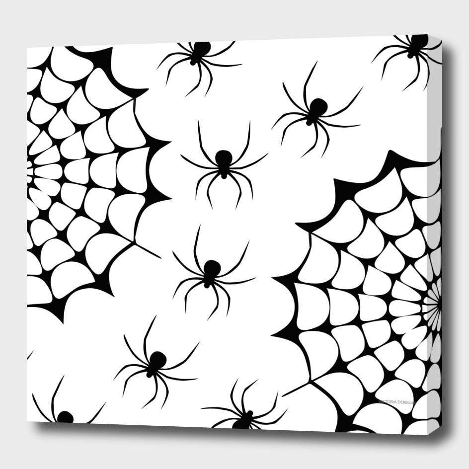 Halloween!!! Spider Lovers_Art by Victoria Deregus_06