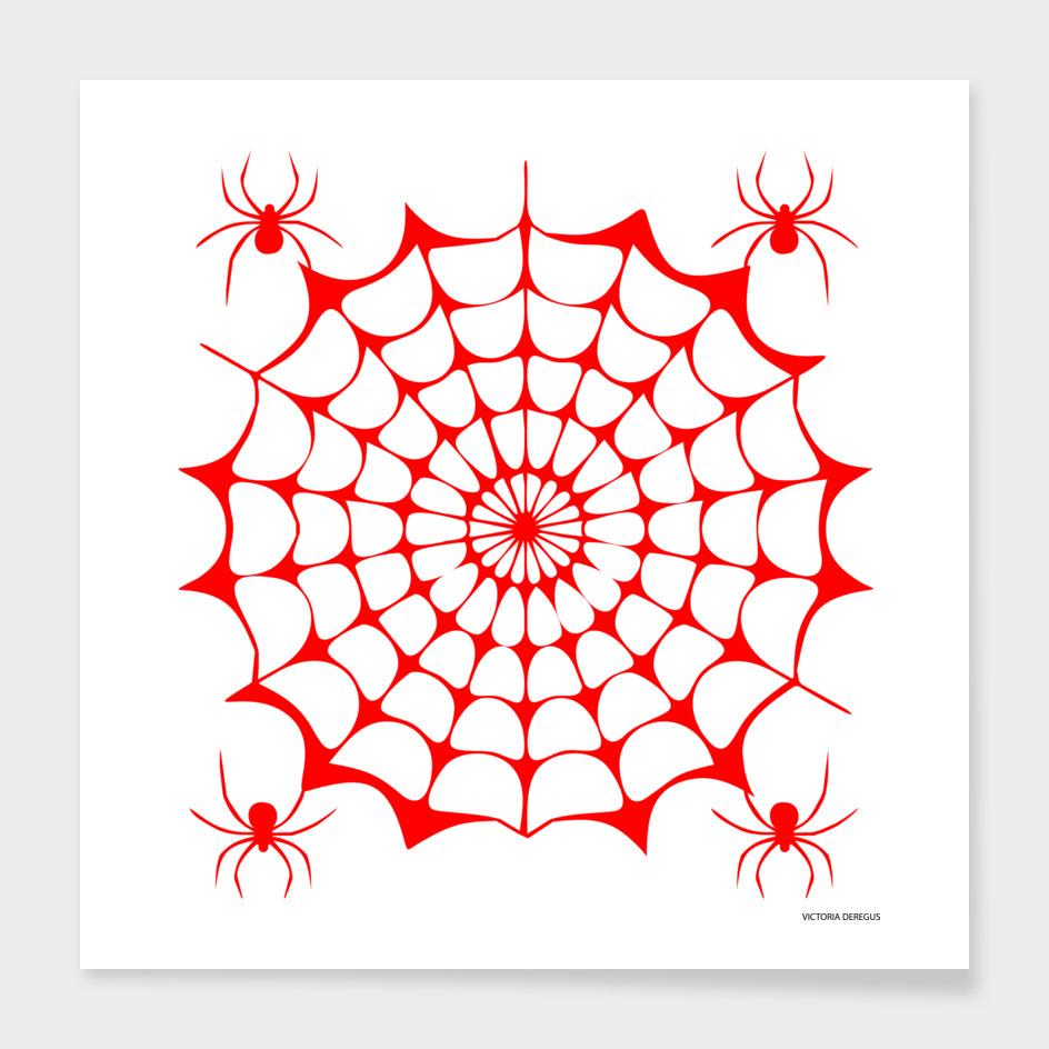 Halloween!!! Spider Lovers_Art by Victoria Deregus_07