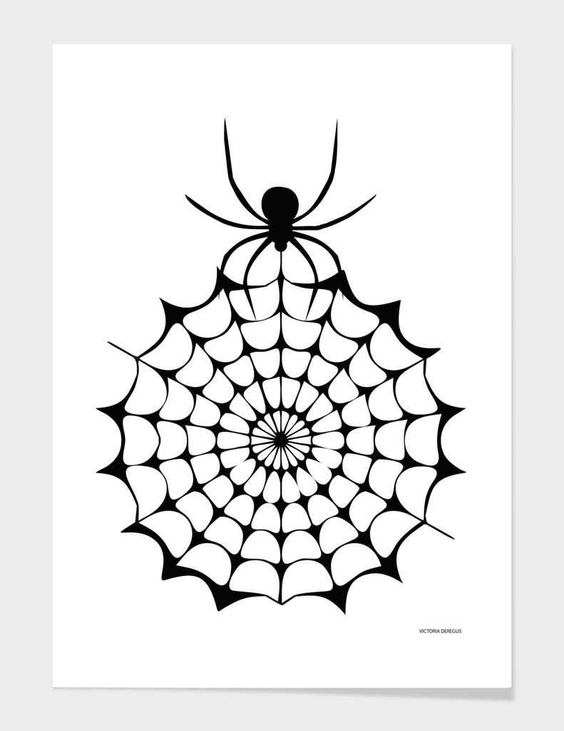 Halloween!!! Spider Lovers_Art by Victoria Deregus_08