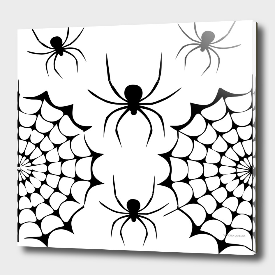 Halloween!!! Spider Lovers_Art by Victoria Deregus_08