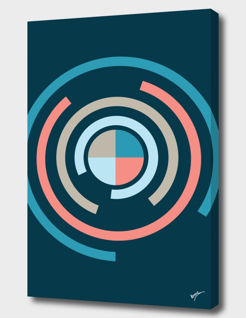 Colorful Circles V