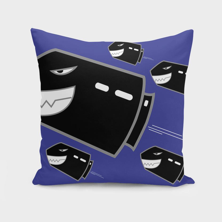 bullet-Throw Pillow