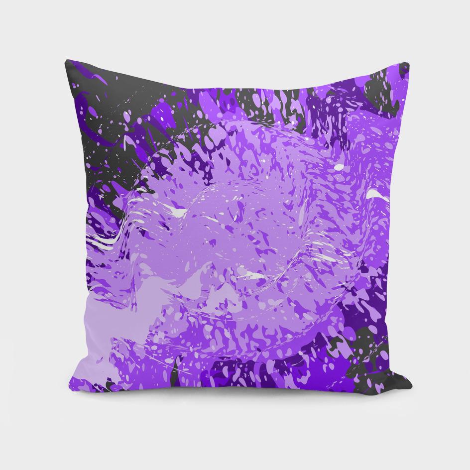 Purple splash
