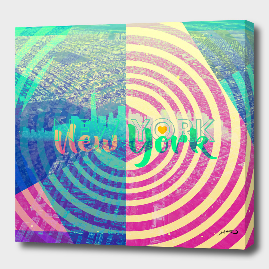 New York New York by #Bizzartino