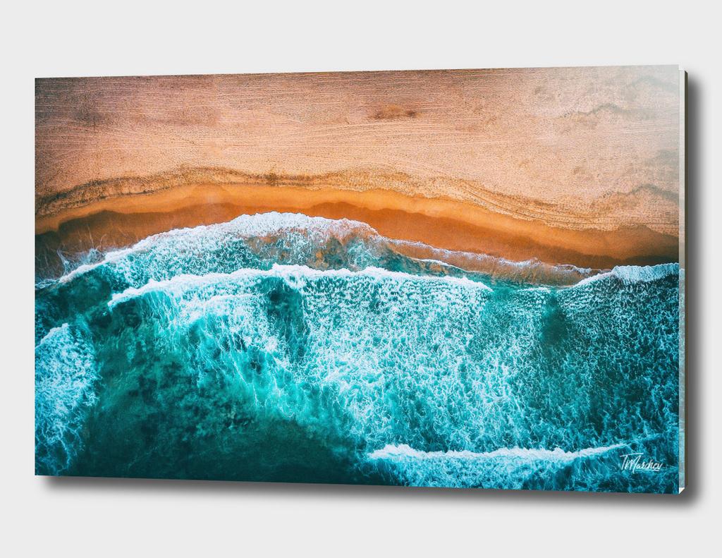 Tropical VII - Beach Waves III