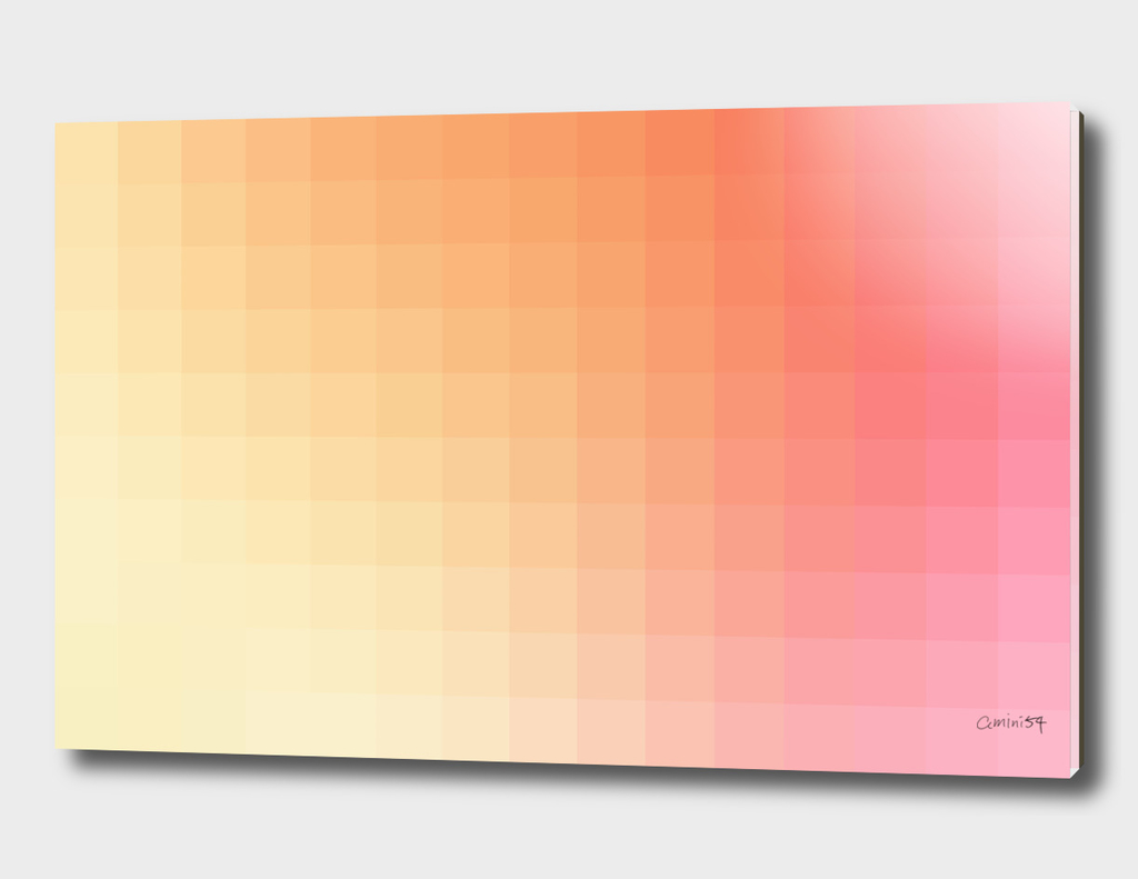 Lumen, Pink and Orange Glow