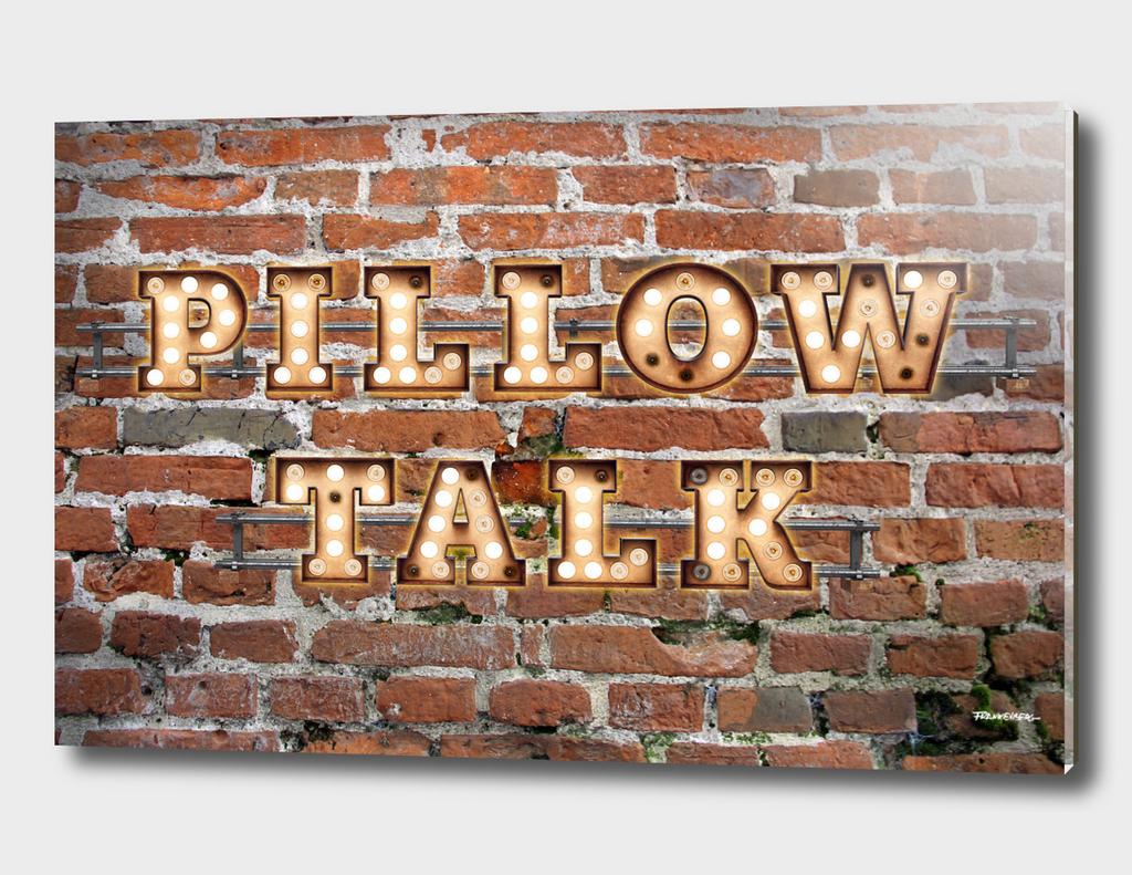 Pillow Talk - Brick