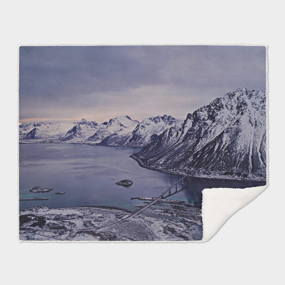 Landscape of Lofoten islands