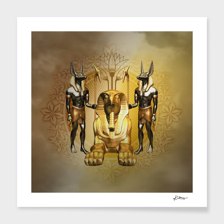 Anubis the egyptian god