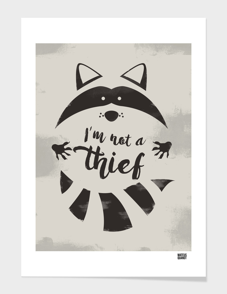 I'm not a thief
