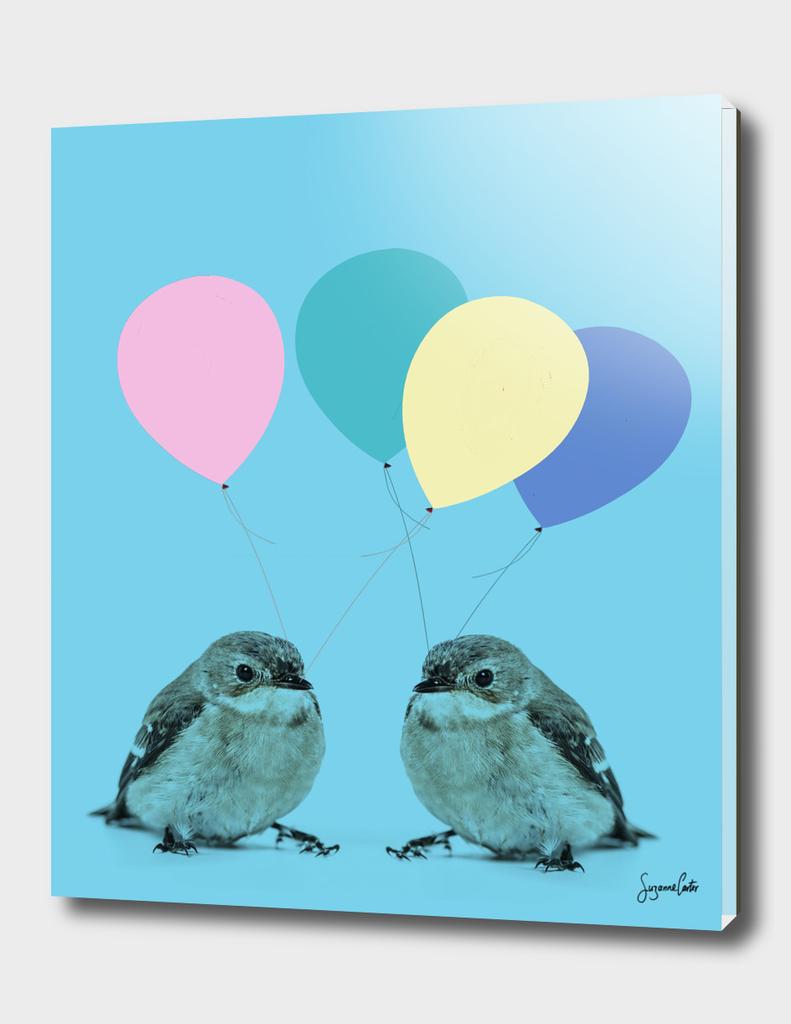 Sparrows & Balloons