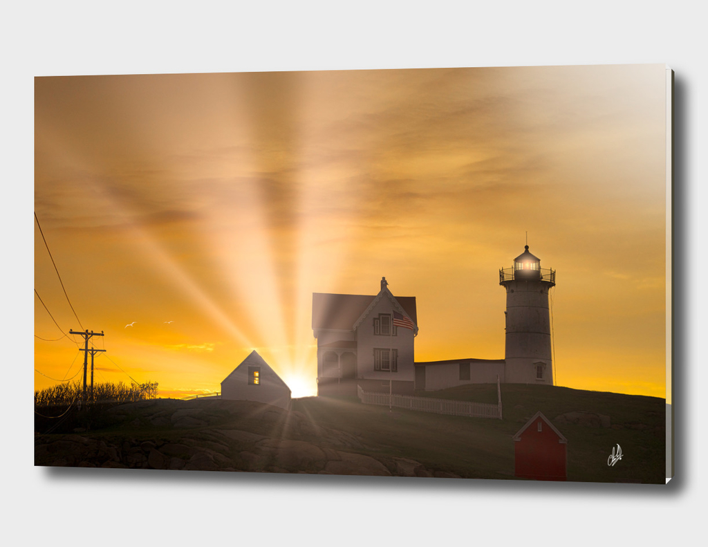 Sunrise At The Nubble