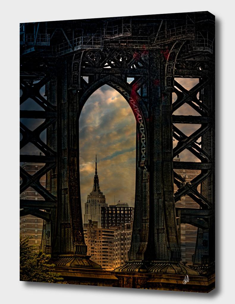 Manhattan Bridge Vista