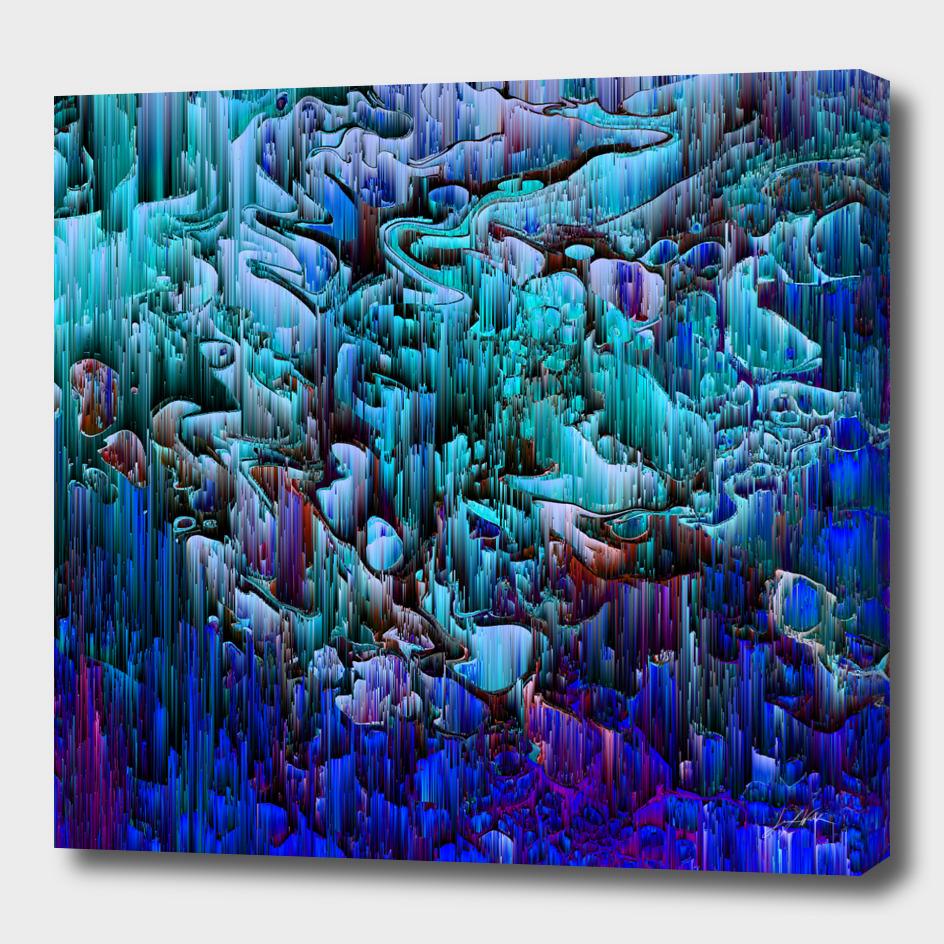 I'm No Glitch - Pixel Abstract Art