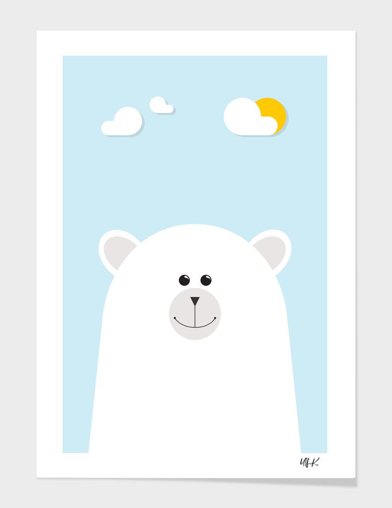 Polar Bear • Colorful Illustration