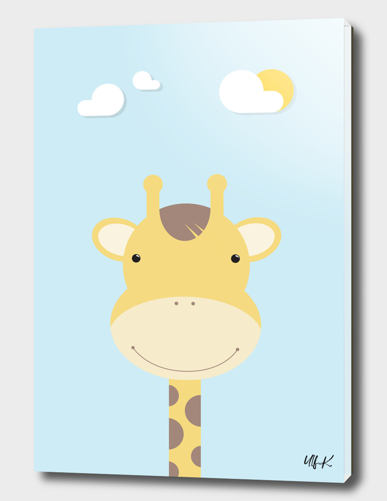 Giraffe • Colorful Illustration