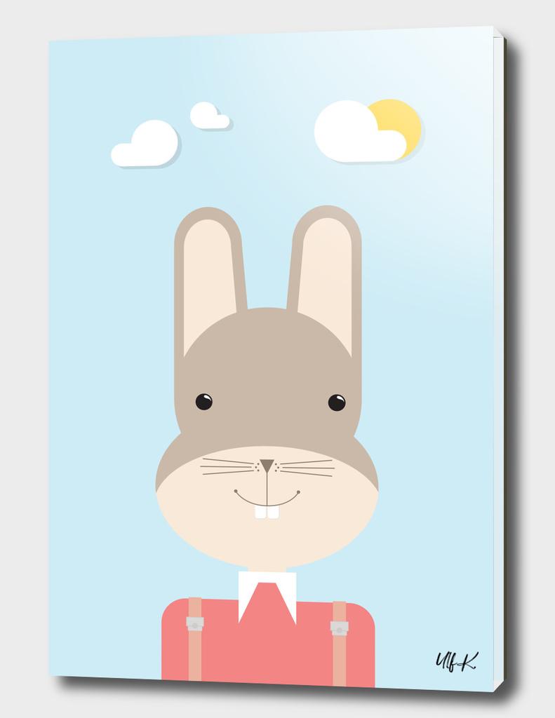 Bunny • Colorful Illustration
