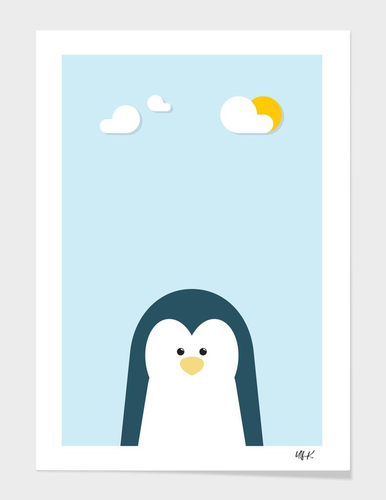 Penguin • Colorful Illustration