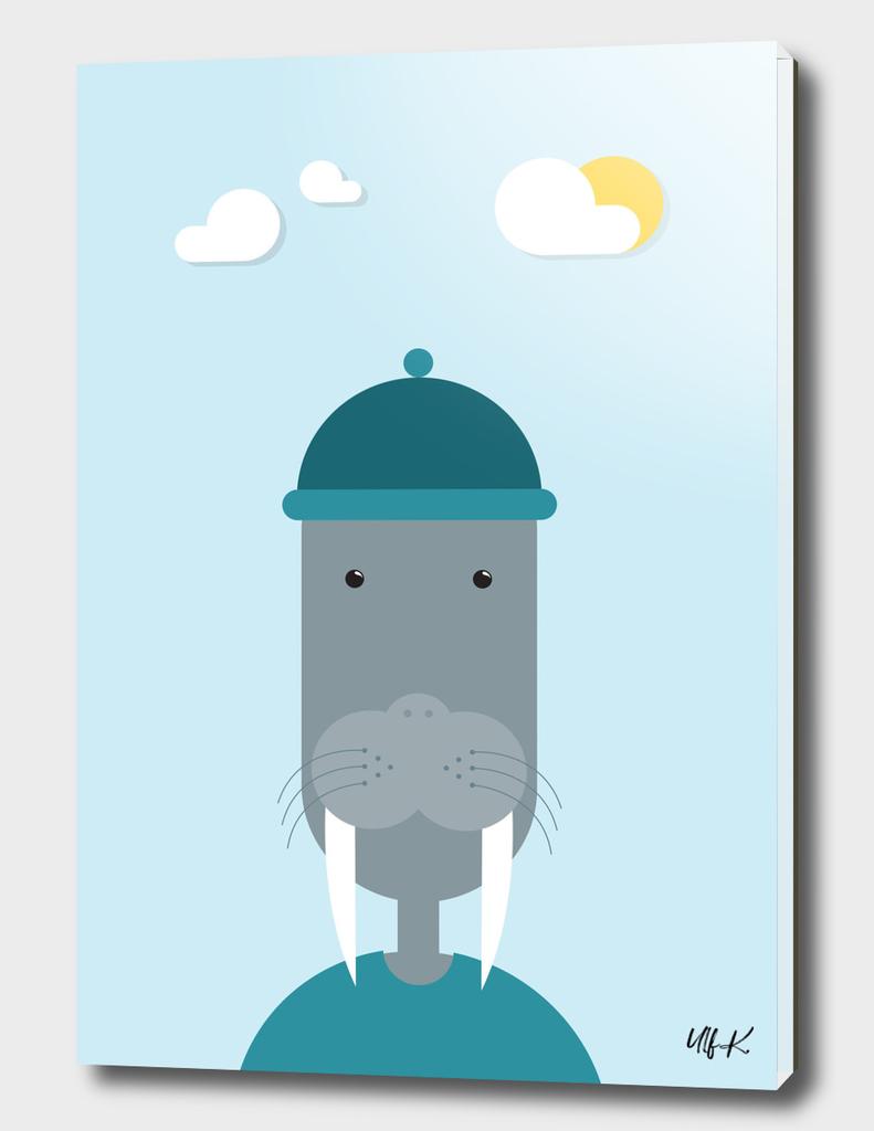 Walrus • Colorful Illustration